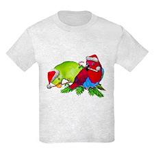Christmas Parrot T-Shirt