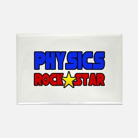 """Physics Rock Star"" Rectangle Magnet"