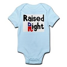 Raised Right 1 Infant Bodysuit