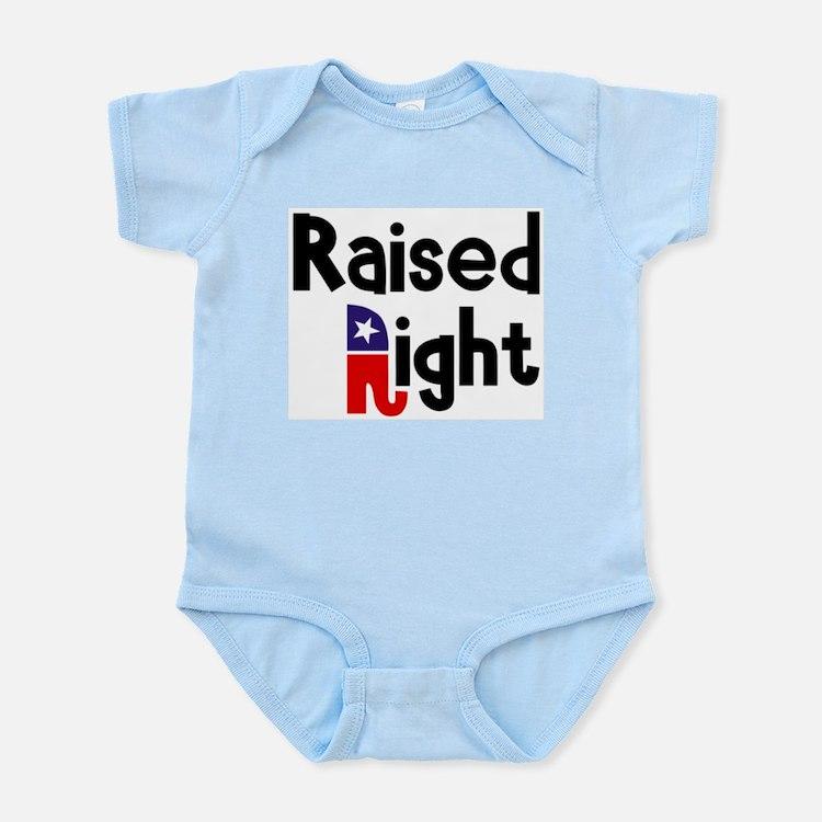Raised Right 1 Infant Bodysuit