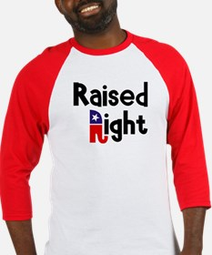 Raised Right 1 Baseball Jersey