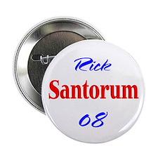 Rick Santorum, 08, Button-2