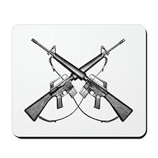 M16 Rifle Mousepad