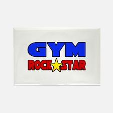 """Gym Rock Star"" Rectangle Magnet"