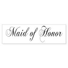 Maid of Honor Bumper Bumper Sticker