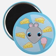 Rat Ice Cream Magnet