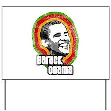 Vintage Barack Obama Yard Sign