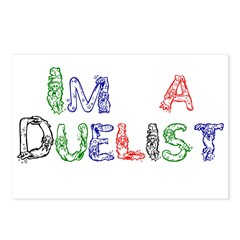I'm a Duelist! Postcards (Package of 8)