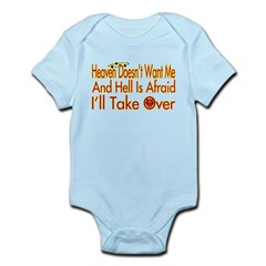 Heaven And Hell Infant Bodysuit