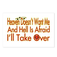 Heaven And Hell Postcards (Package of 8)