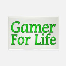 Gamer For Life Rectangle Magnet