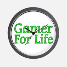 Gamer For Life Wall Clock