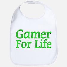 Gamer For Life Bib
