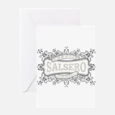 SALSERO I LEAD 07 31402 CLOSEUP Greeting Cards