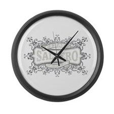Unique Latin dancing Large Wall Clock