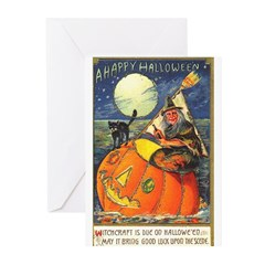 Witchcraft Halloween Greeting Cards (Pk of 20)