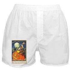 Witchcraft Halloween Boxer Shorts