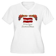 Latvia Priecigus...2 T-Shirt