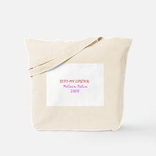 Read my lipstick Tote Bag