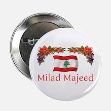 "Lebanon Milad Majeed 2 2.25"" Button (10 pack)"