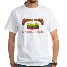 Lithuania Linksmu Kaledu 2 Shirt