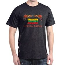 Lithuania Linksmu Kaledu 2 T-Shirt