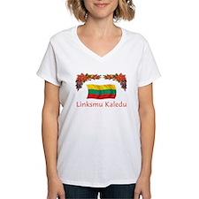 Lithuania Linksmu Kaledu 2 Shirt