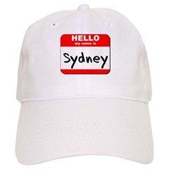 Hello my name is Sydney Cap
