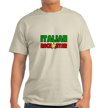 """Italian Rock Star"" Light T-Shirt"