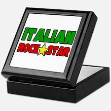 """Italian Rock Star"" Keepsake Box"
