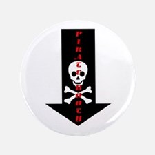 "Naughty Pirate Booty 3.5"" Button (100 pack)"