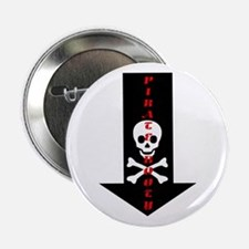 "Naughty Pirate Booty 2.25"" Button (100 pack)"