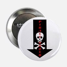 "Naughty Pirate Booty 2.25"" Button"