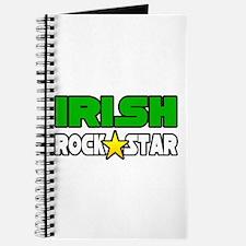 """""""Irish Rock Star"""" Journal"""