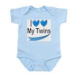 I Love My Twins Infant Creeper