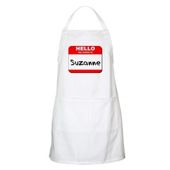 Hello my name is Suzanne BBQ Apron