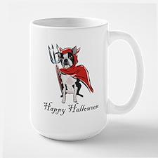 Happy Halloween Boston Mug