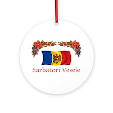 Moldova Sarbatori... Ornament (Round)