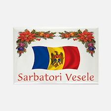 Moldova Sarbatori... Rectangle Magnet