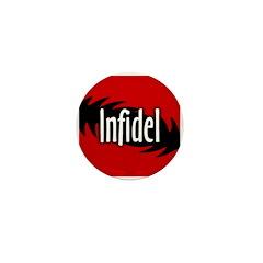Infidel Miniature Button