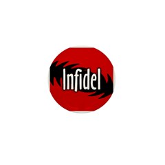 Infidel Miniature Button