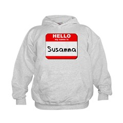 Hello my name is Susanna Hoodie