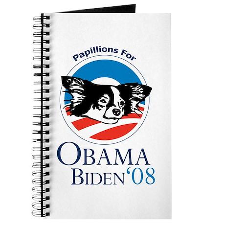 Papillions for Obama Journal