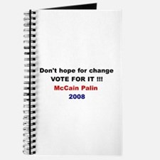 Vote for change Journal