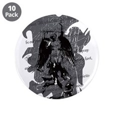 """St. Michael: Protection 3.5"""" Button (10 pack)"""