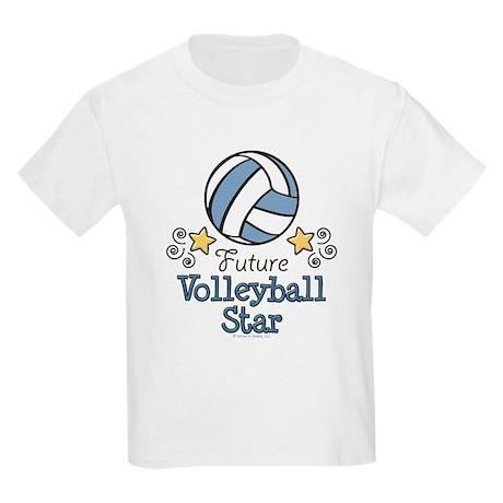 Future Volleyball Star Kids Light T-Shirt
