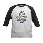 Future Volleyball Star Kids Baseball Jersey