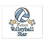 Future Volleyball Star Small Poster
