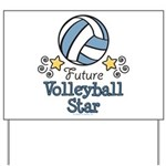 Future Volleyball Star Yard Sign