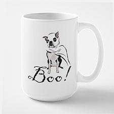 Boston Terrier Ghost Boo! Mug